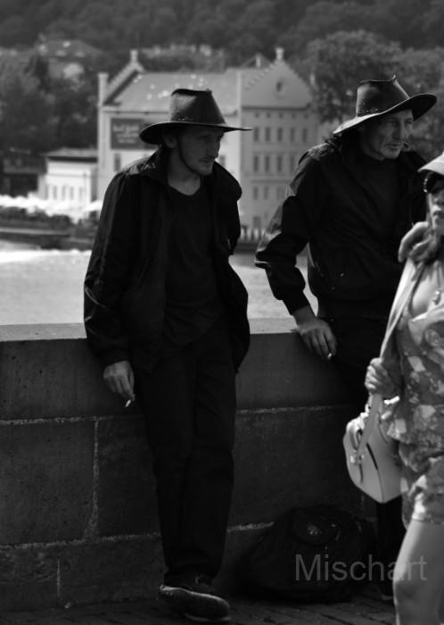 Strange-characters-in-Prague
